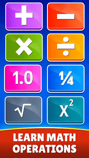 Math Games - Addition, Subtraction, Multiplication apkslow screenshots 3