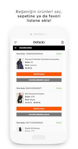 DeFacto - Giyim & Alu0131u015fveriu015f modavailable screenshots 6