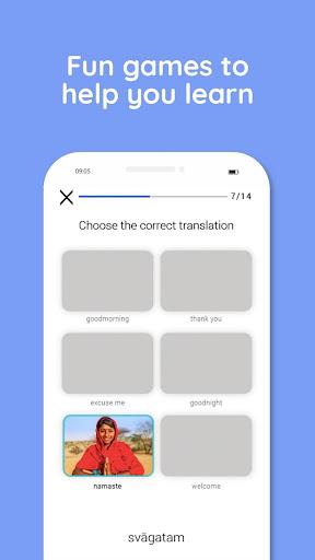 Learn Hindi, Sanskrit, Kannada, Tamil and more 4.0.5 screenshots 5