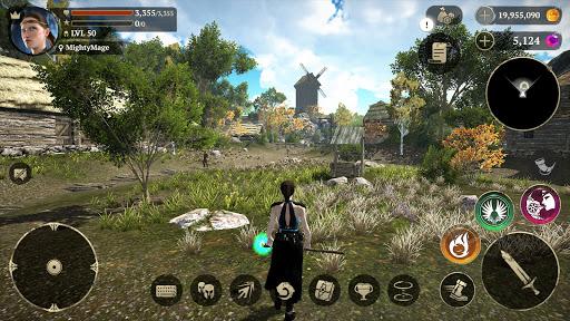 Evil Lands: Online Action RPG apktreat screenshots 1