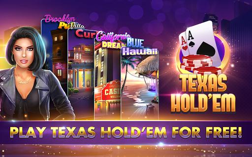 POKER, SLOTS - Huge Jackpot - Texas Holdem Poker  screenshots 9