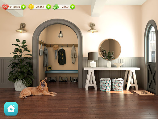 Dream Home: Design & Makeover android2mod screenshots 12