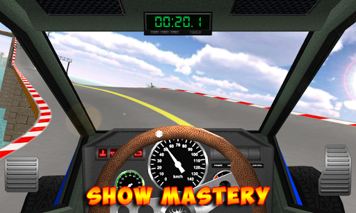 Racing stunts by car. Extreme driving apkpoly screenshots 5