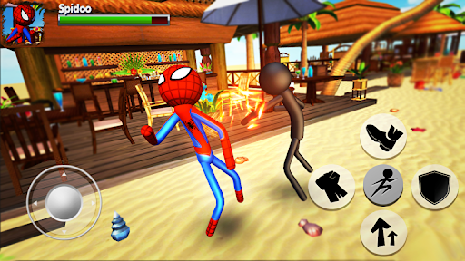 Cartoon Fighting Game 3D : Superheroes 1.5 screenshots 3