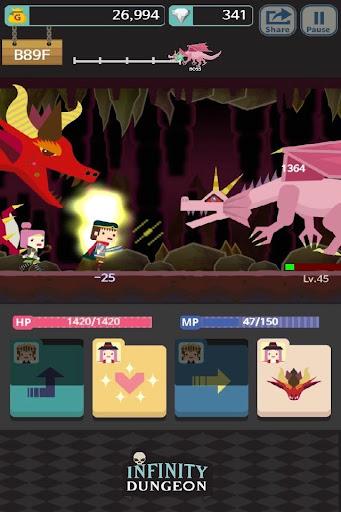 Infinity Dungeon: Offline RPG Adventure screenshots 17
