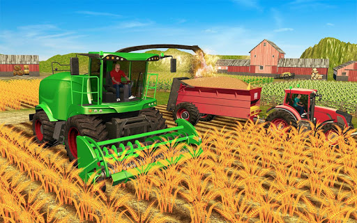 Grand Farming Simulator-Tractor Driving Games 2021 1.16 screenshots 6