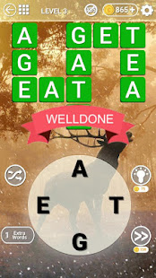 Word Land:Connect letters join nature trip-journey