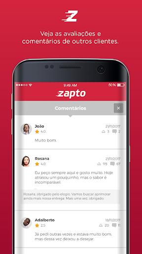 Zapto - Delivery de comida  screenshots 2