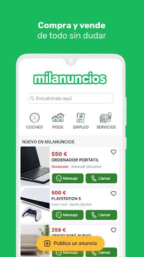 Milanuncios: Segunda mano, motor, pisos y empleo 4.12.0 screenshots 2