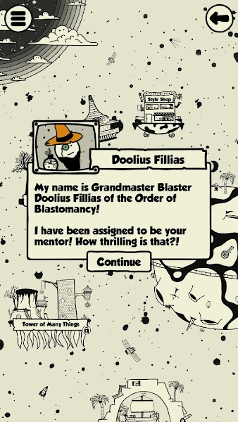 Blastomancer - A Distorted Puzzle Game