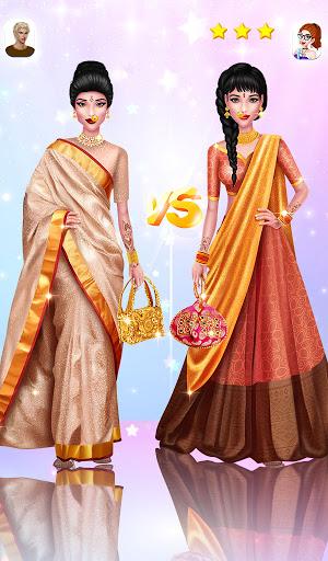 Wedding Fashion Stylist: Indian Dress up & Makeup 1.0 screenshots 13
