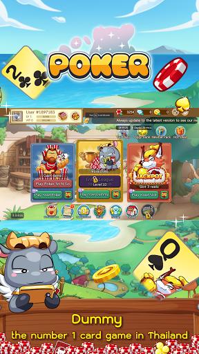 Dummy & Toon Poker Texas slot Online Card Game 3.3.639 screenshots 1