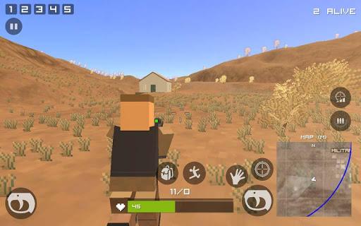 Grand Pixel Royale Battlegrounds Mobile Battle 3D  screenshots 17