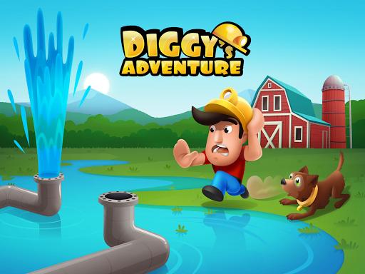 Diggy's Adventure: Challenging Puzzle Maze Levels screenshots 16