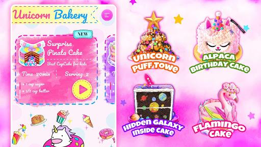 Unicorn Chef: Baking! Cooking Games for Girls 2.0 screenshots 5