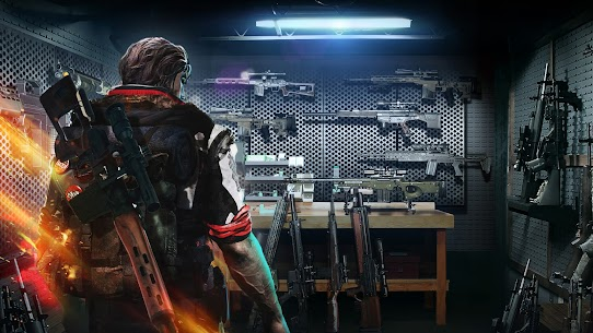 ZOMBIE HUNTER Offline Games Mod (Unlimited Money) apk