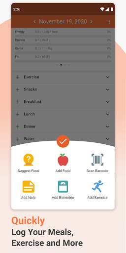 Cronometer u2013 Nutrition Tracker 3.5.4 Screenshots 4