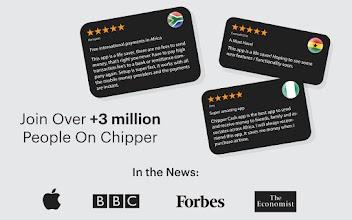 Chipper Cash - Send & Receive Money Across Africa screenshot thumbnail