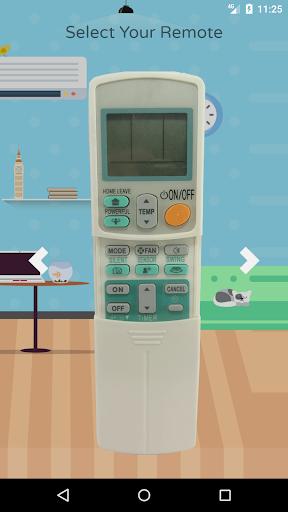 remote control for daikin air conditioner screenshot 2