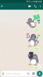 🐧Chilly Penguin Stickers Screenshot