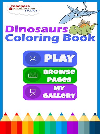 Dinosaurs Coloring Book screenshots 9