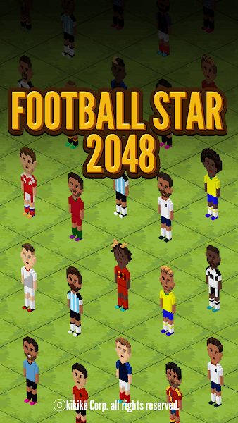 Football Star 2048  - Collect & Puzzle