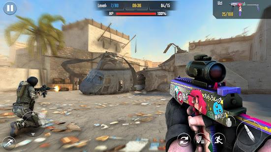 Real Commando Shooting 3D Games-Offline Games 2021 1.34 Screenshots 13