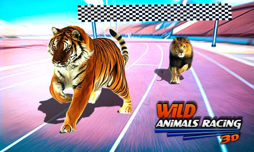 Wild Animals Racing 3D 3.9 screenshots 1