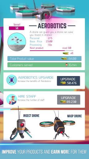 Cyberpunk Market u2013 Idle Tycoon game simulator Apk 3 screenshots 2