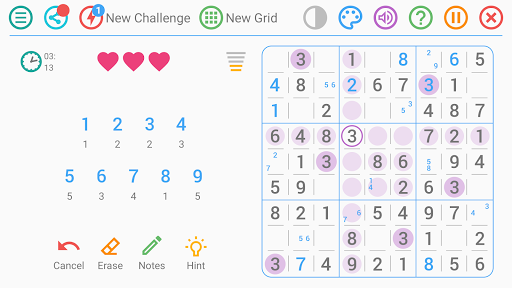 Free Sudoku Game apkpoly screenshots 4