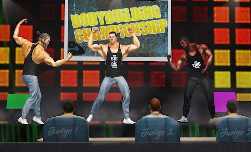 GYM Fighting Game: Bodybuilder Trainer Fight PRO [Mod Version] 3