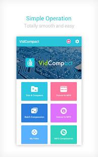 Video to MP3 Converter & Compressor - VidCompact