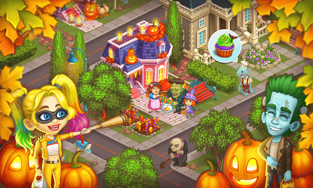 Monster Farm - Happy Ghost Village - Witch Mansion poster 7