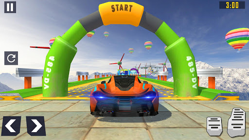 Code Triche Mega Ramp Car Race : Fearless Car Stunts 2020 mod apk screenshots 2