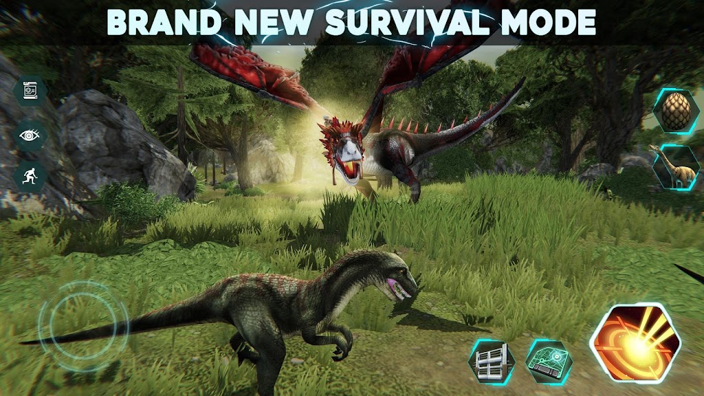 Dino Tamers - Jurassic Riding MMO  poster 2