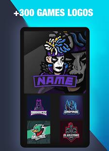 Logo Esport Maker - Create Gaming Logo with Name 0.5 Screenshots 5