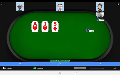 Poker Trainer - Poker Training Exercises 3.1.8 screenshots 11