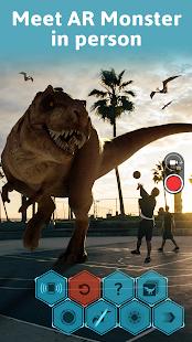 Monster Park AR - Jurassic Dinosaurs in Real World