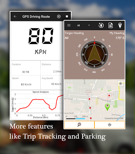 Offline Map Navigation - Live GPS, Locate, Explore 1.3.6.8 Screenshots 7