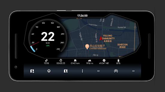 GPS Speedometer Tracker