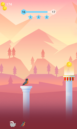 Bouncy Bird: Casual & Relaxing Flappy Style Game 1.0.7 screenshots 8