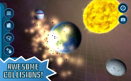 Pocket Galaxy - 3D Gravity Sandbox Space Game Free  Screenshots 6