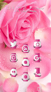 Up Pink Icon Pack