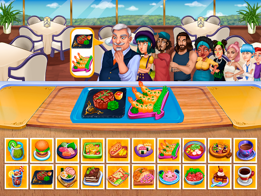 Cooking Fantasy: Be a Chef in a Restaurant Game apkmr screenshots 9