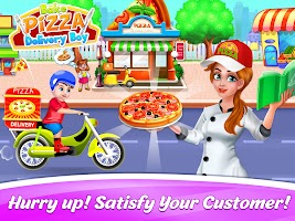 Bake Pizza Games-Pizza Maker Games- Delivery Games