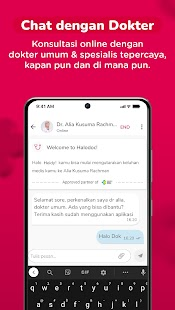 Halodoc - Doctors, Health Store & Appointments Screenshot