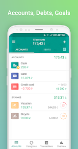 1Money Premium v2.3.0 MOD APK – Expense Tracker, Money Manager, Budget 5