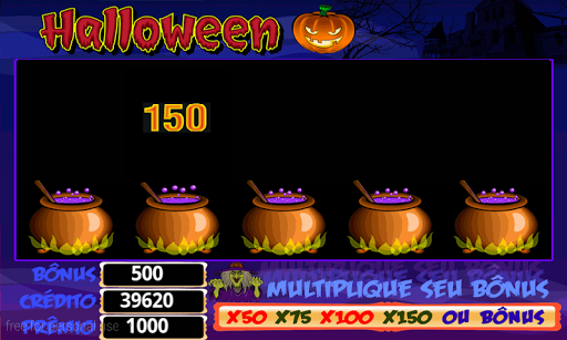 Halloween Roleta Cau00e7a Niquel apkslow screenshots 2