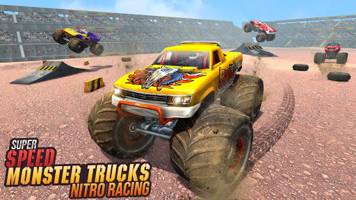 Real Monster Truck Demolition Derby Crash Stunts 3.0.8 screenshots 1