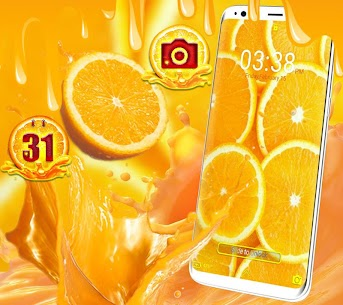 Orange Launcher Theme 1.2 Mod + APK + Data UPDATED 1